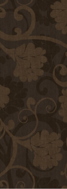 Декор 25*70 Decor 1 Sepia Mocha Floral